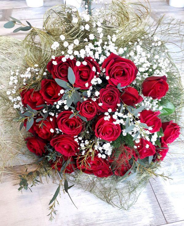 Kırmızı Aşk Çiçekleri