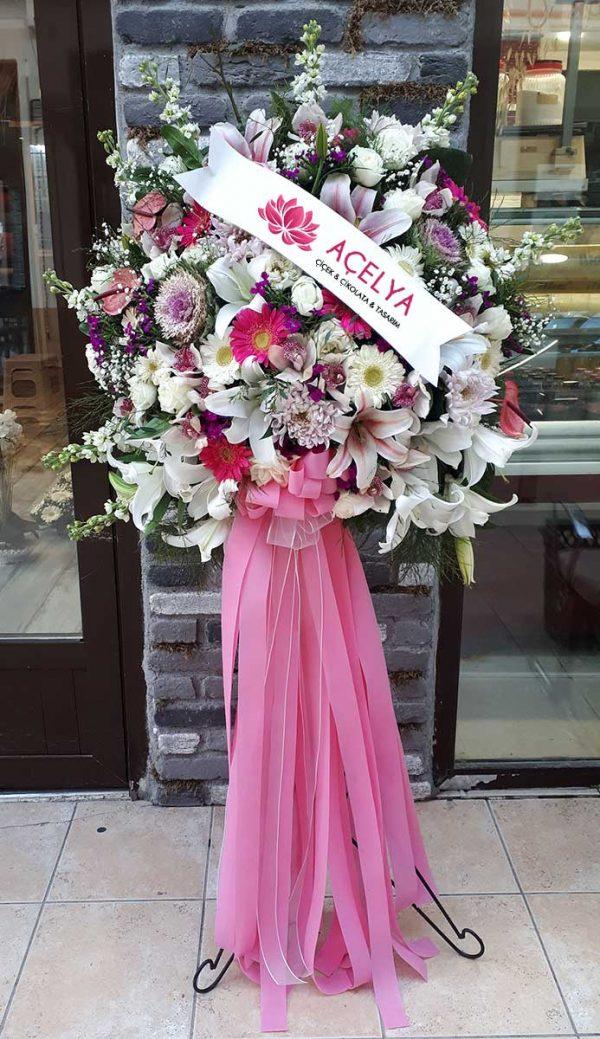 Ferforje Düğün Nikah Açılış Çiçekleri
