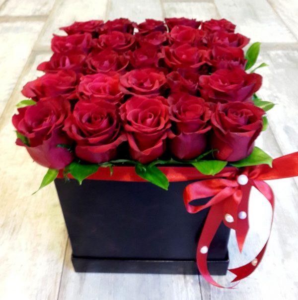 Kutulu Güller Çiçekler